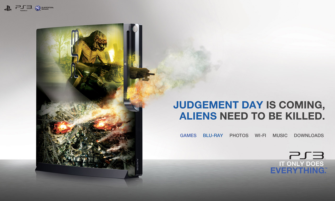 PlayStation Print Advert By Diagonal: Blu-ray | Ads of the World™