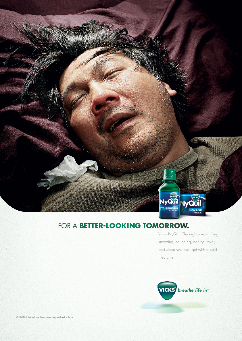 Vicks Nyquil Print Advert By Publicis Joe Ads Of The