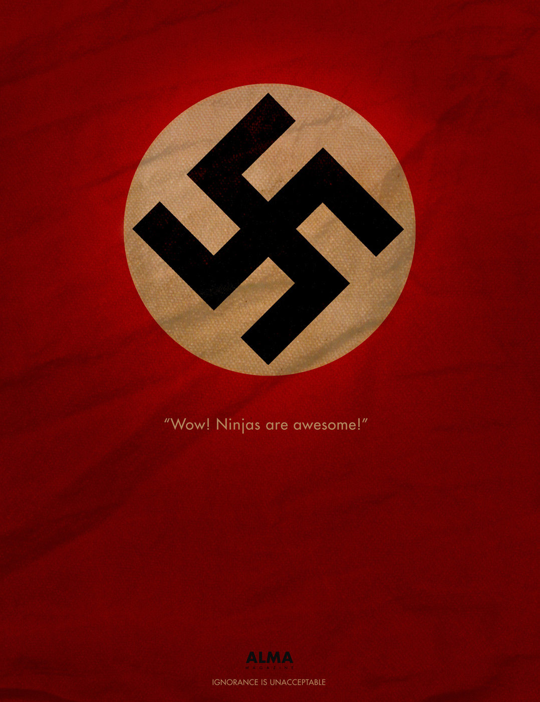 Print advert by swastika ads of the world swastika biocorpaavc