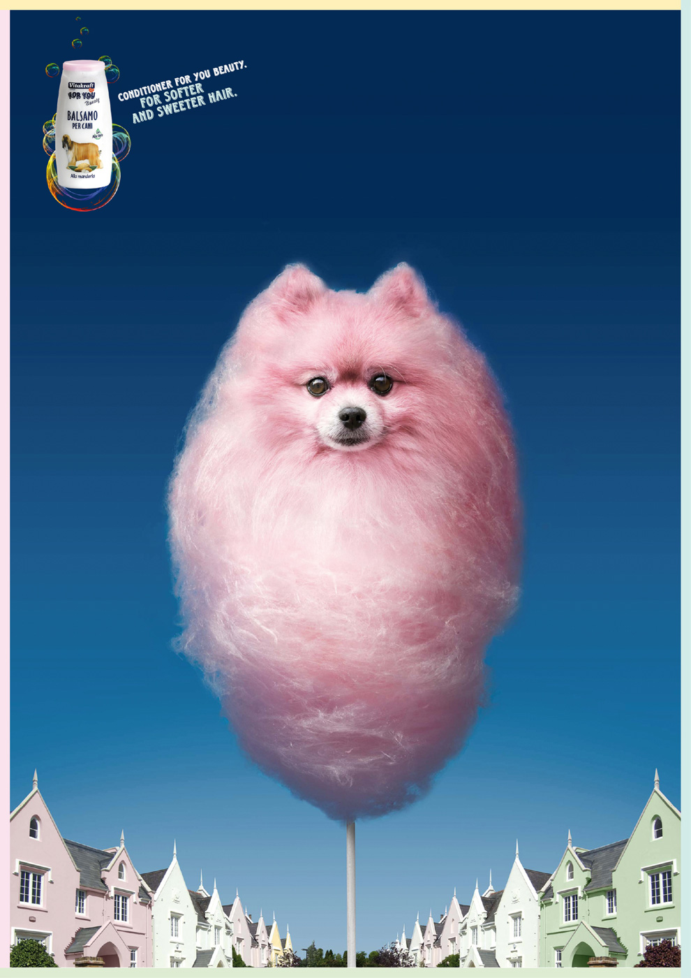 vitakraft print advert by leagas delaney sweet pink dog ads of the world. Black Bedroom Furniture Sets. Home Design Ideas