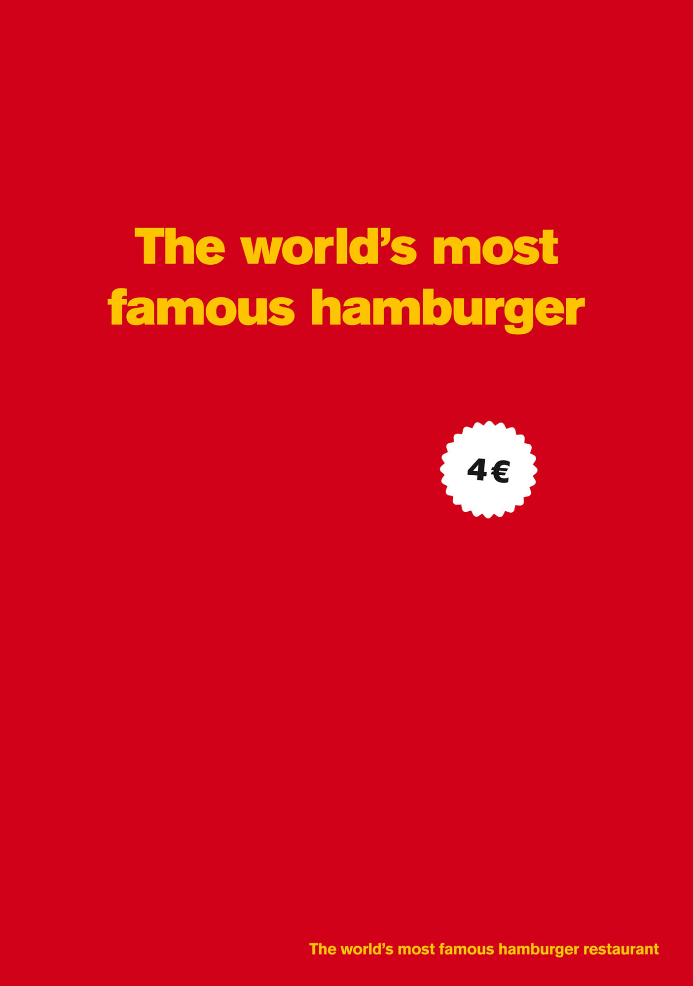 McDonald's Print Advert By DDB: The world's most famous ...