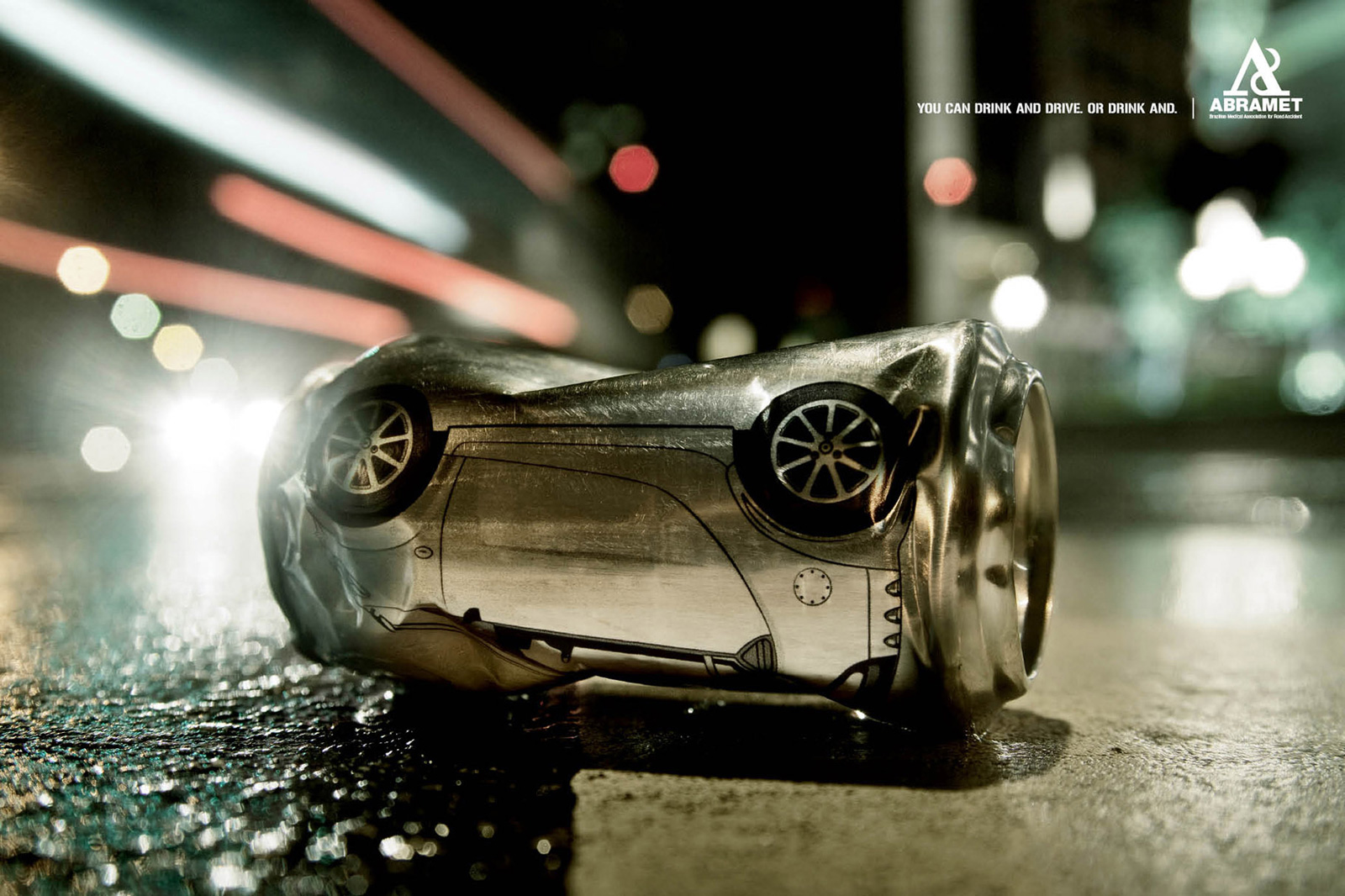 abramet print advert by drinking and driving ads of the world acirc cent  abramet print ad drinking and driving