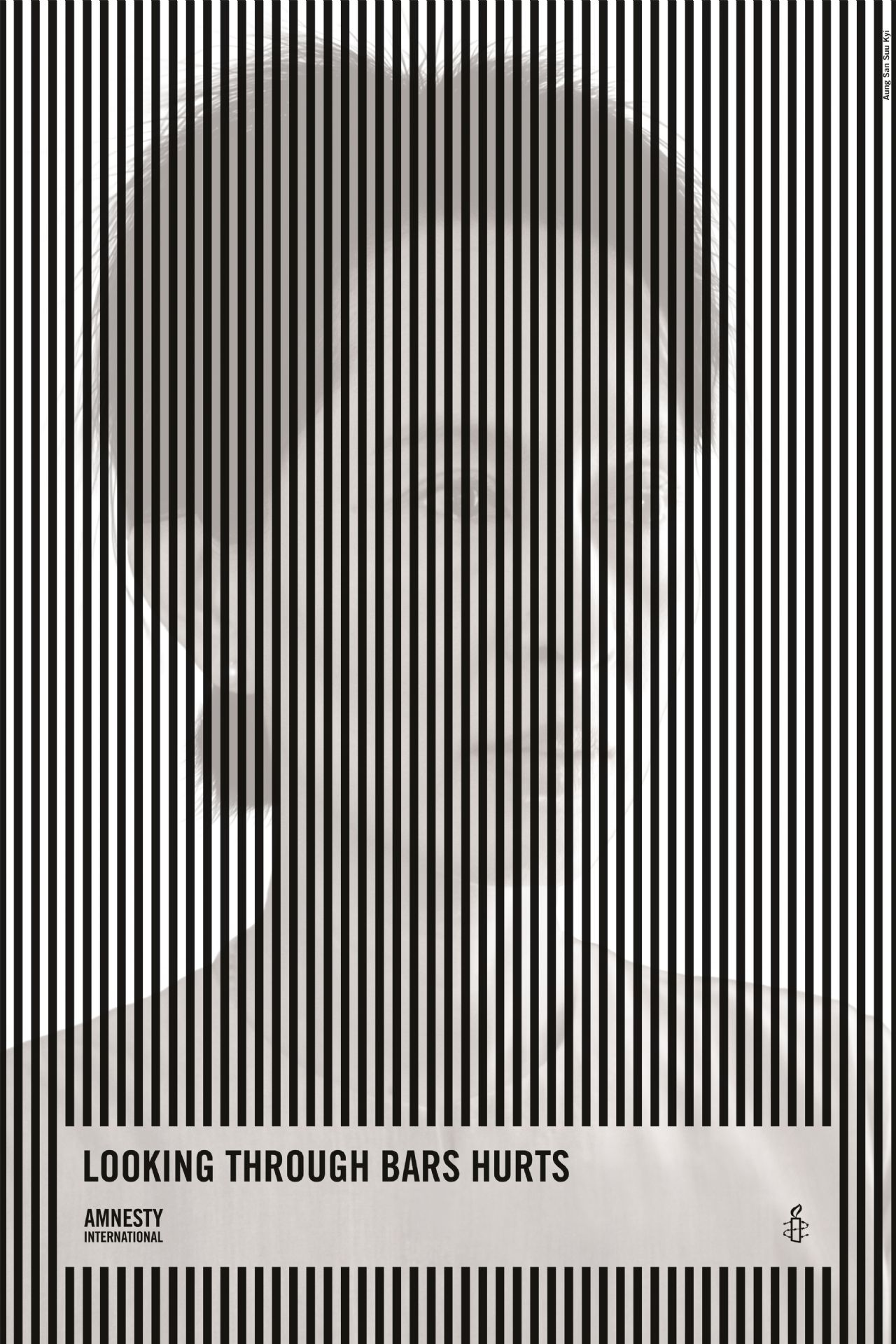 Amnesty International Print Advert By Leo Burnett: Bars | Ads of the ...