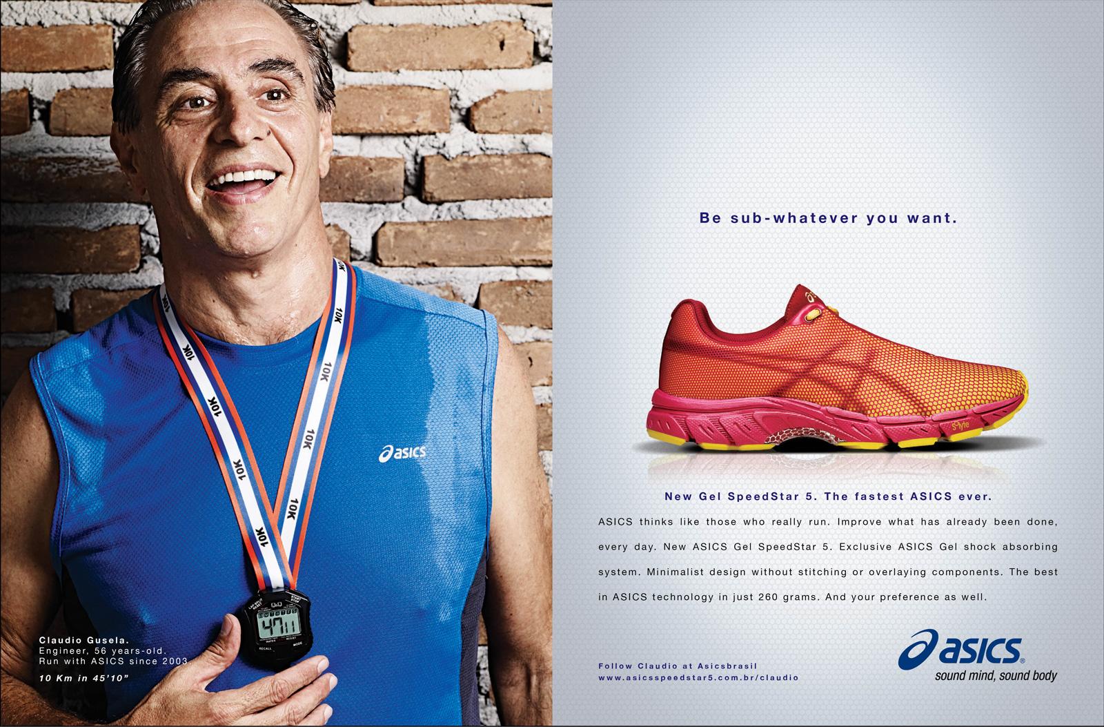 ASICS Print Ad - Medal, 2