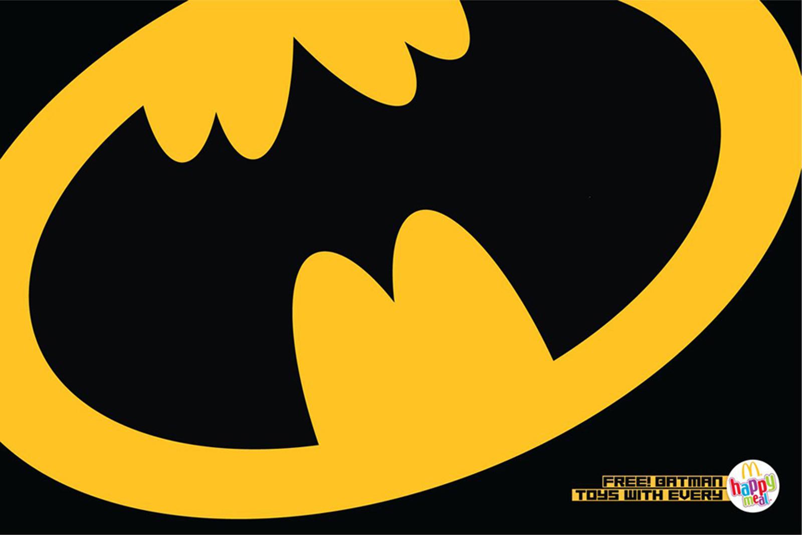 Mcdonalds print advert by leo burnett batman ads of the world mcdonald039s print ad batman buycottarizona