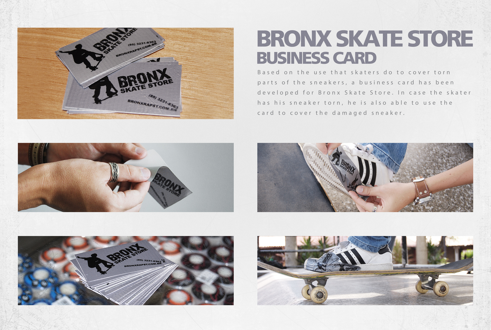 Bronx skate store direct advert by todacor business card ads of business card reheart Images