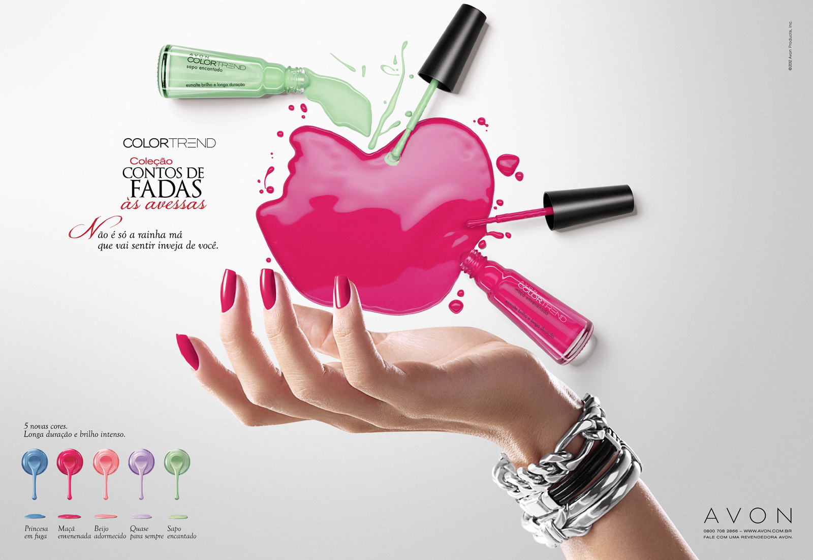 Avon Print Advert By Grey: Evil Queen   Ads of the World™