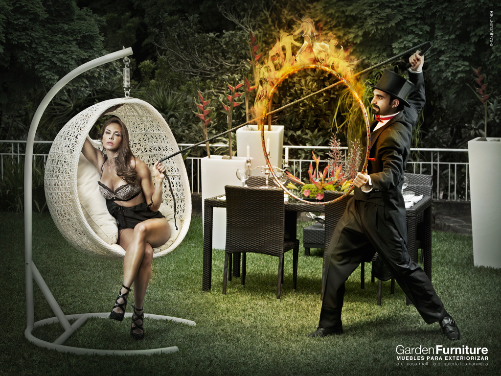 Garden Furniture Print Ad   Trainer