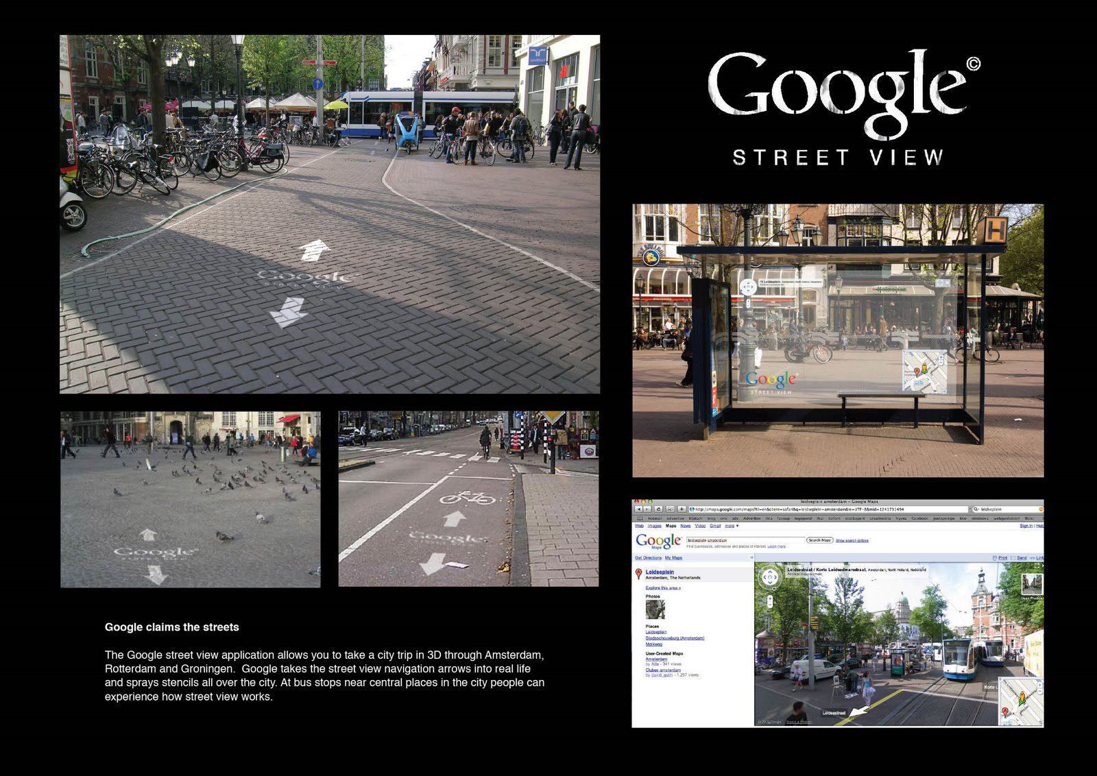 Google Outdoor Advert By Junior: Google claims the streets | Ads of ...
