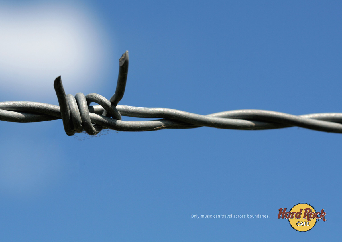 Print Advert By : Barb wire | Ads of the World™
