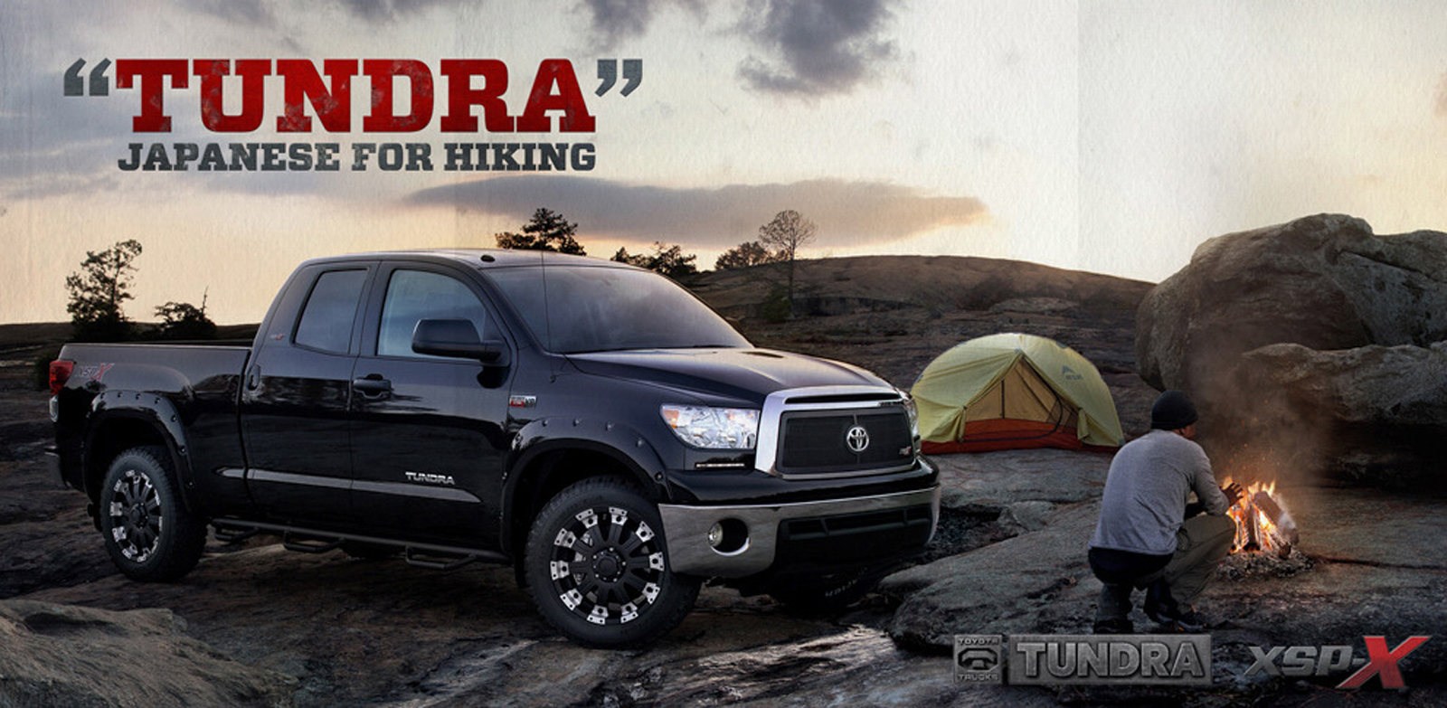 "Toyota Birmingham Al >> Toyota Outdoor Advert By Intermark: ""Tundra"" Japanese for hiking 