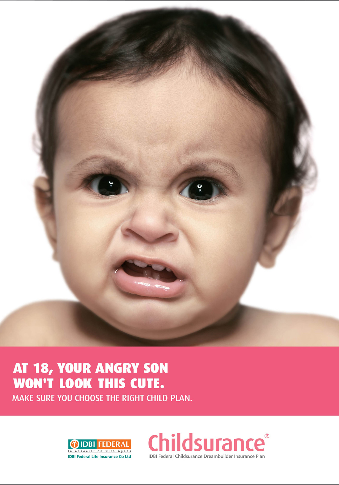 Idbi Federal Print Advert By Ogilvy Angry Baby 2 Ads