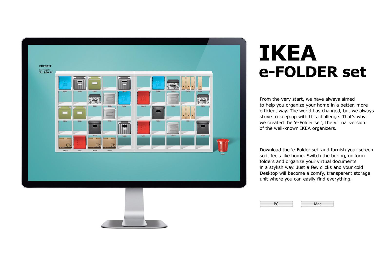 High Quality IKEA Digital Ad   Organize Your Desktop
