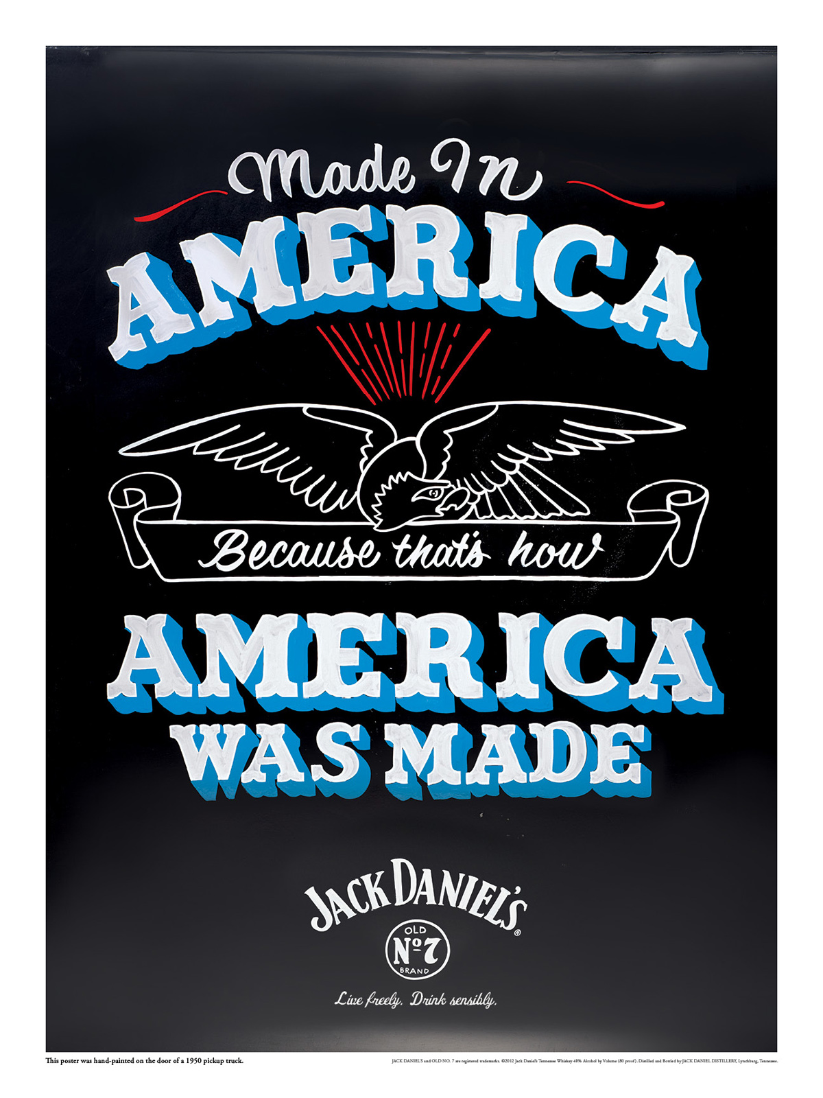 Jack Daniel\'s Outdoor Advert By Arnold: Made in America | Ads of the ...
