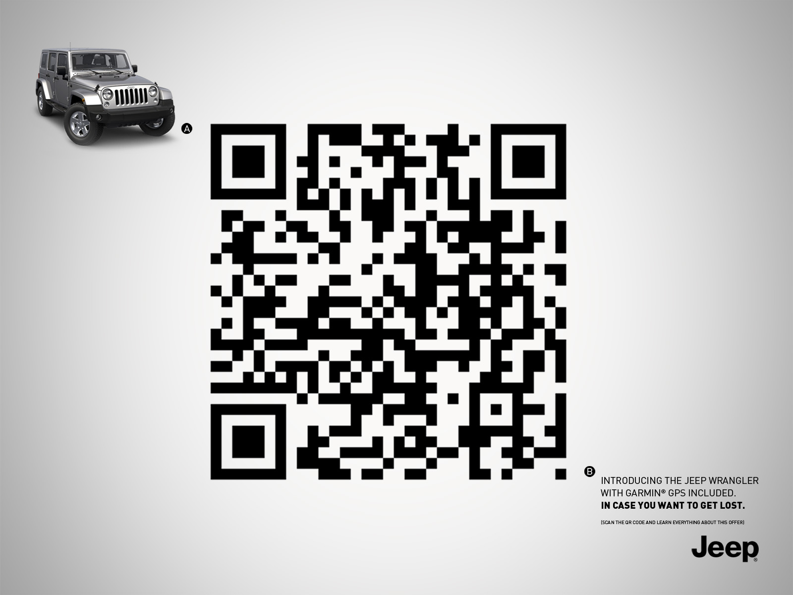 Jeep print advert by 9 the creative shop gps ads of the world jeep print ad gps sciox Choice Image