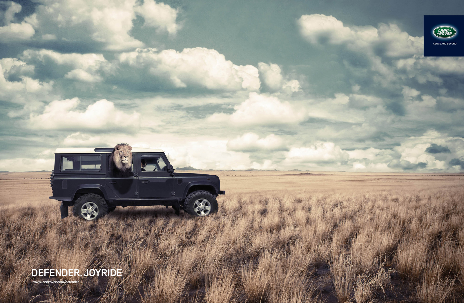land rover print advert by greekvertising lion ads of the world. Black Bedroom Furniture Sets. Home Design Ideas