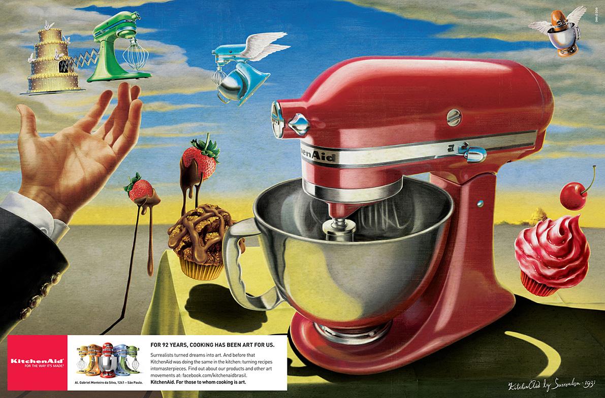 Whirlpool Print Ad   Surrealism