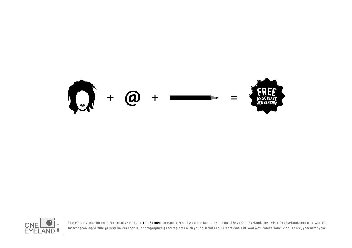 print ad leo burnett. One Eyeland Print Ad - The Formula, Leo Burnett