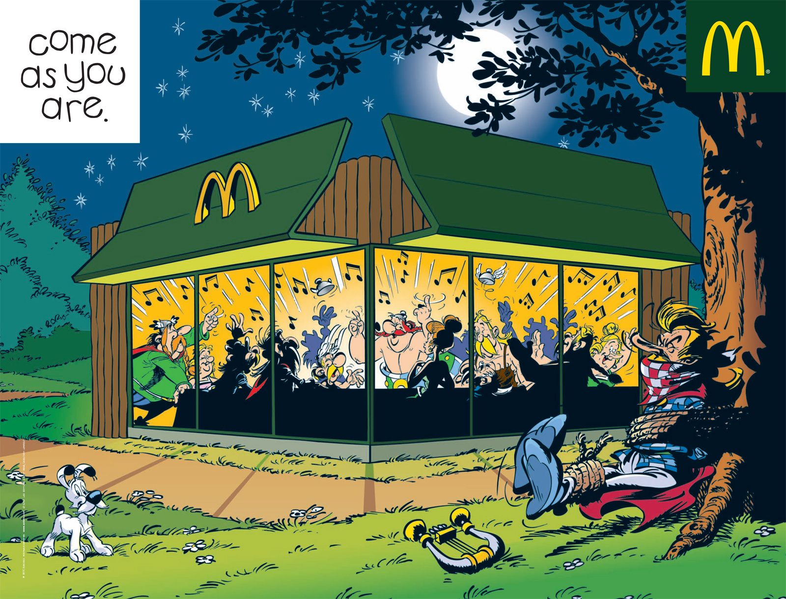 Mcdonalds print advert by euro rscg asterix ads of the world asterix altavistaventures Images
