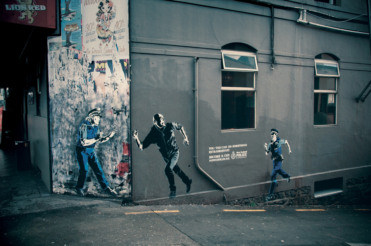 New Zealand Police Outdoor Ad - Madie & Julia
