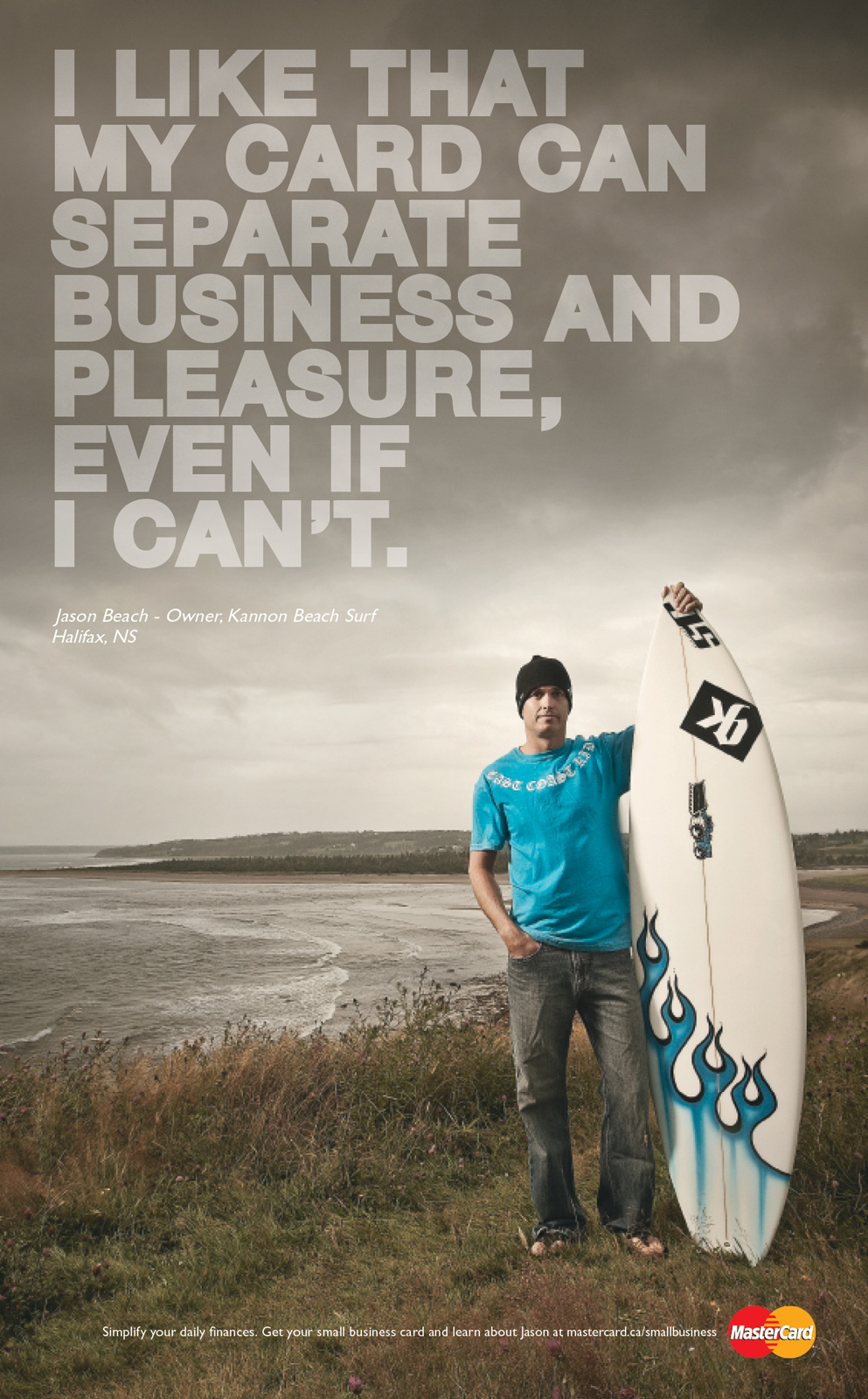 Mastercard print advert by mccann small business surfer ads of mastercard print ad small business surfer magicingreecefo Images