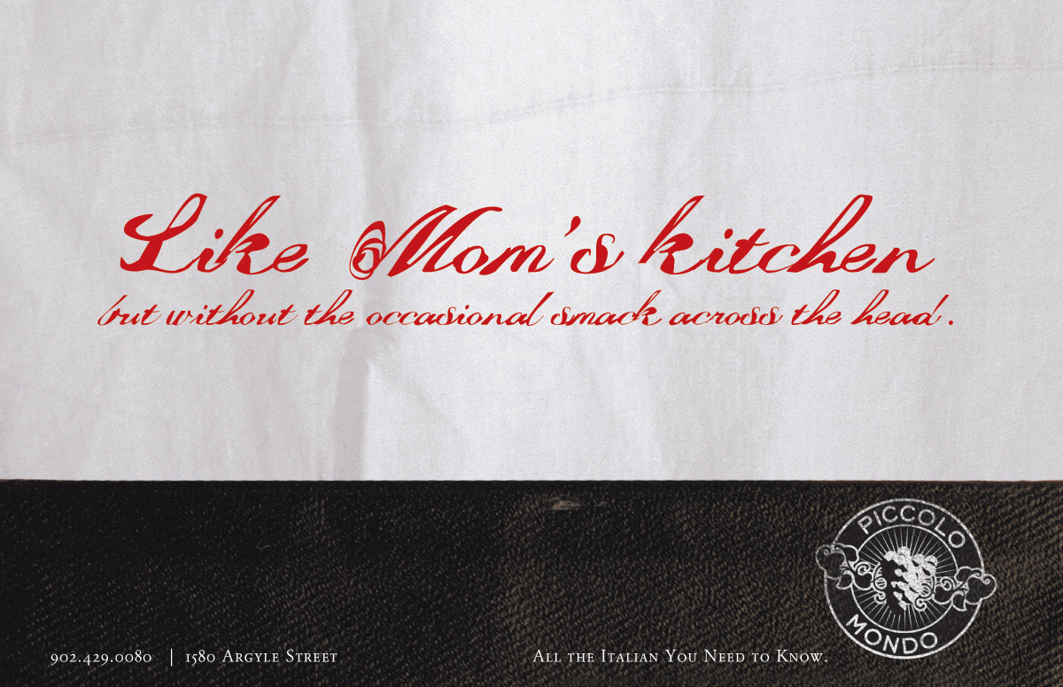 Print Advert By : Mom\'s kitchen | Ads of the World™