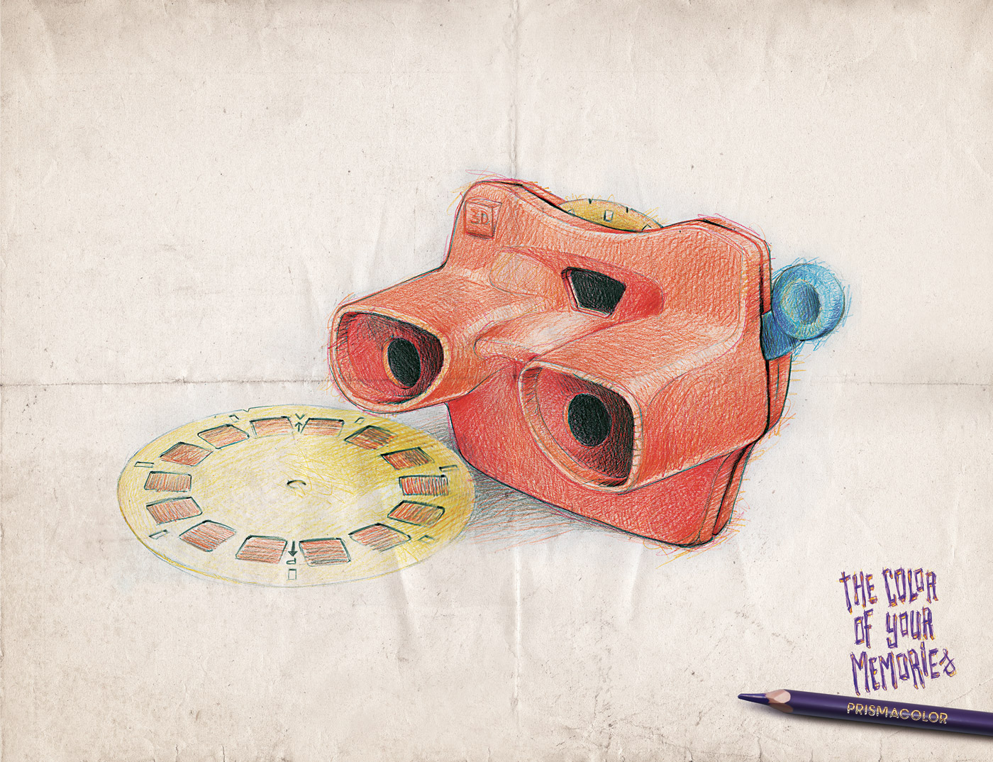 Prismacolor Print Advert By Y&R: View master | Ads of the World™
