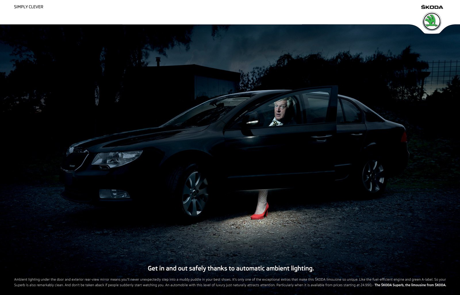 skoda print advert by selmore stiletto heel ads of the world