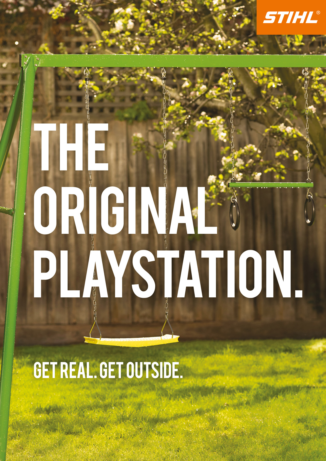 Stihl Print Advert By TBWA: The Original Playstation   Ads of the World™