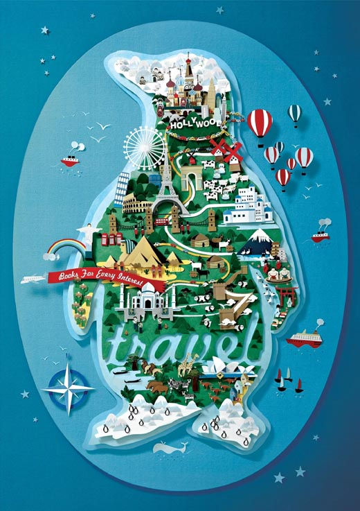 Penguin Print Advert By YR Travel