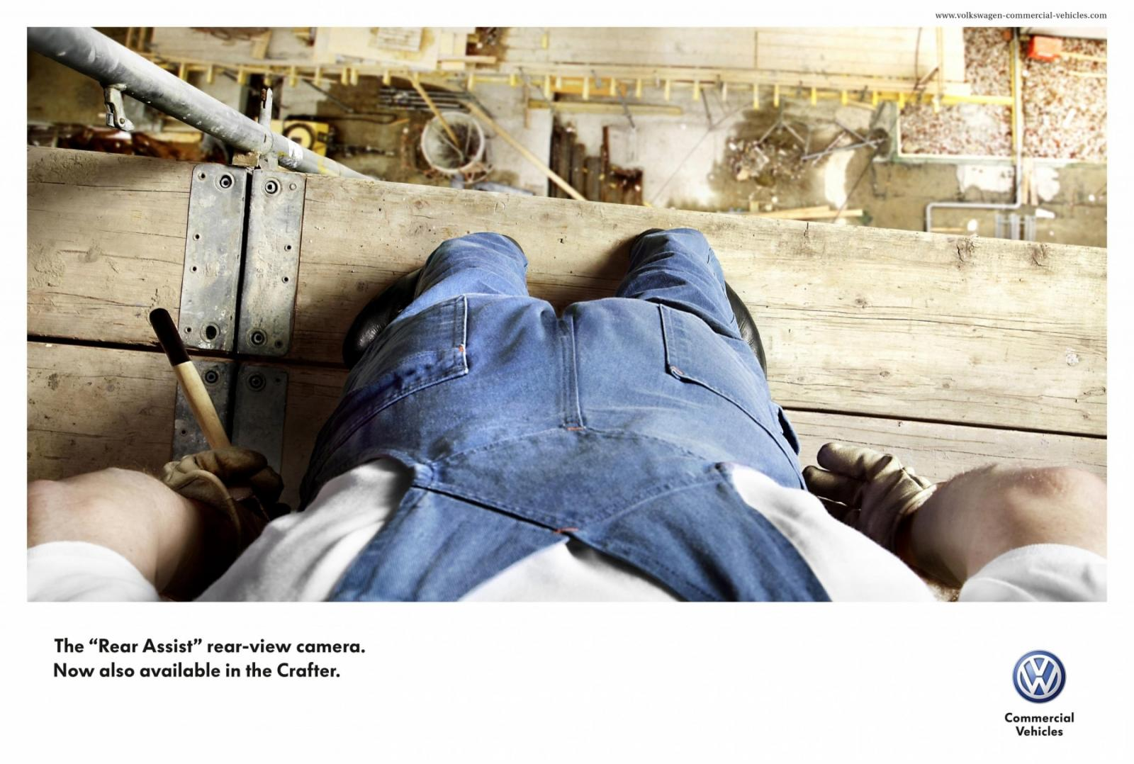Volkswagen Print Advert By Grabarz & Partner: Scaffolding | Ads of ...