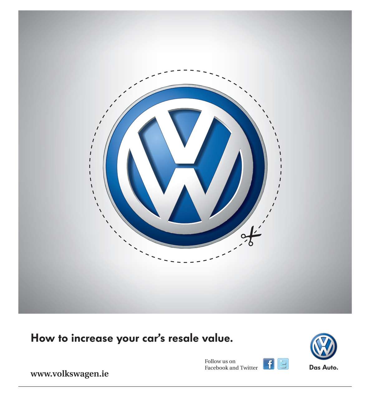 Volkswagen Print Advert By Ddb Resale Value Ads Of The World