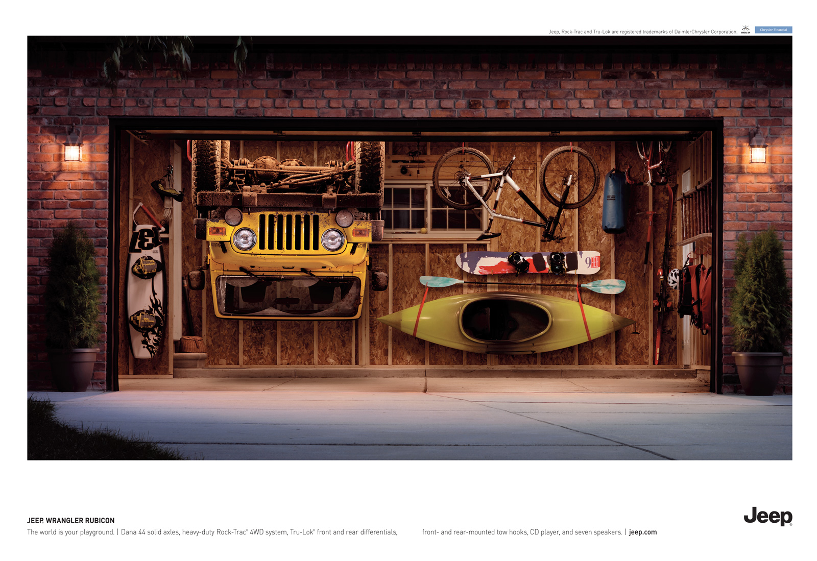 Jeep print advert by bbdo garage ads of the world for Garage jeep nantes