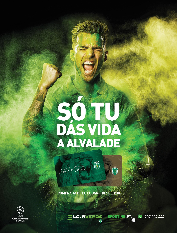 Sporting Clube de Portugal Print Advert By Carmen: Fans, 3 ...