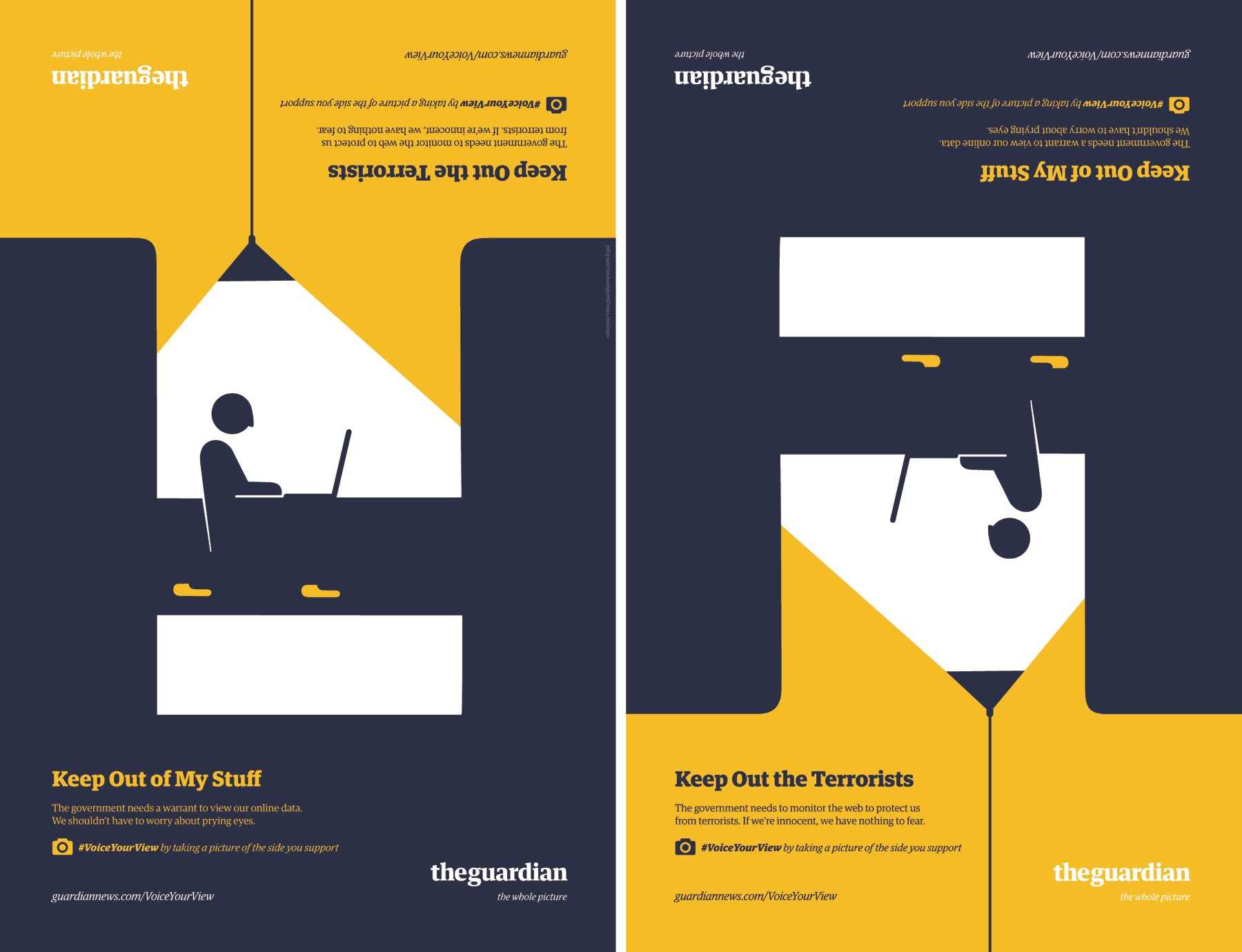 Guardian Outdoor Advert By BBH: Internet privacy | Ads of the World™