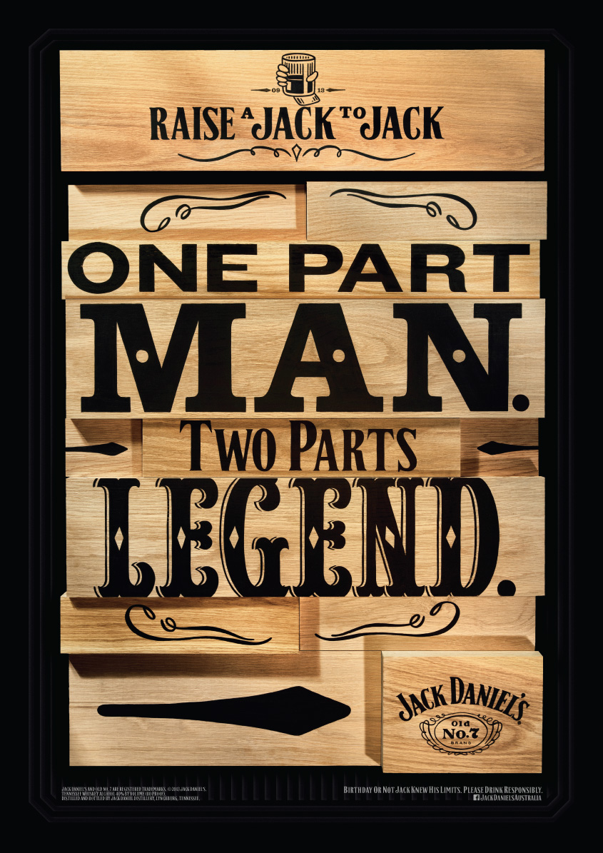 Jack Daniel S Outdoor Advert By Arnold Legend Ads Of