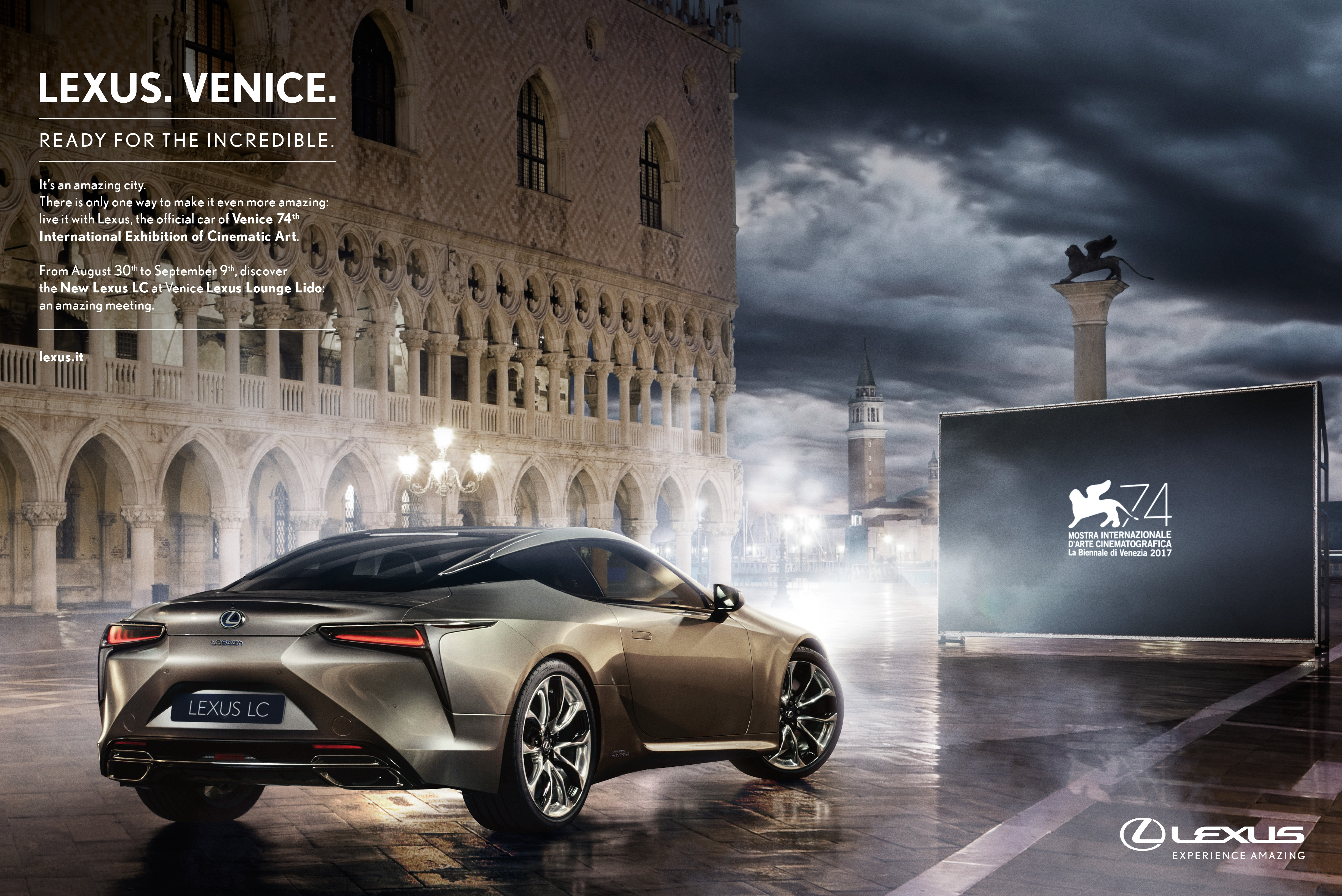Lexus Print Advert By The&Partnership: Ready for the Incredible ...