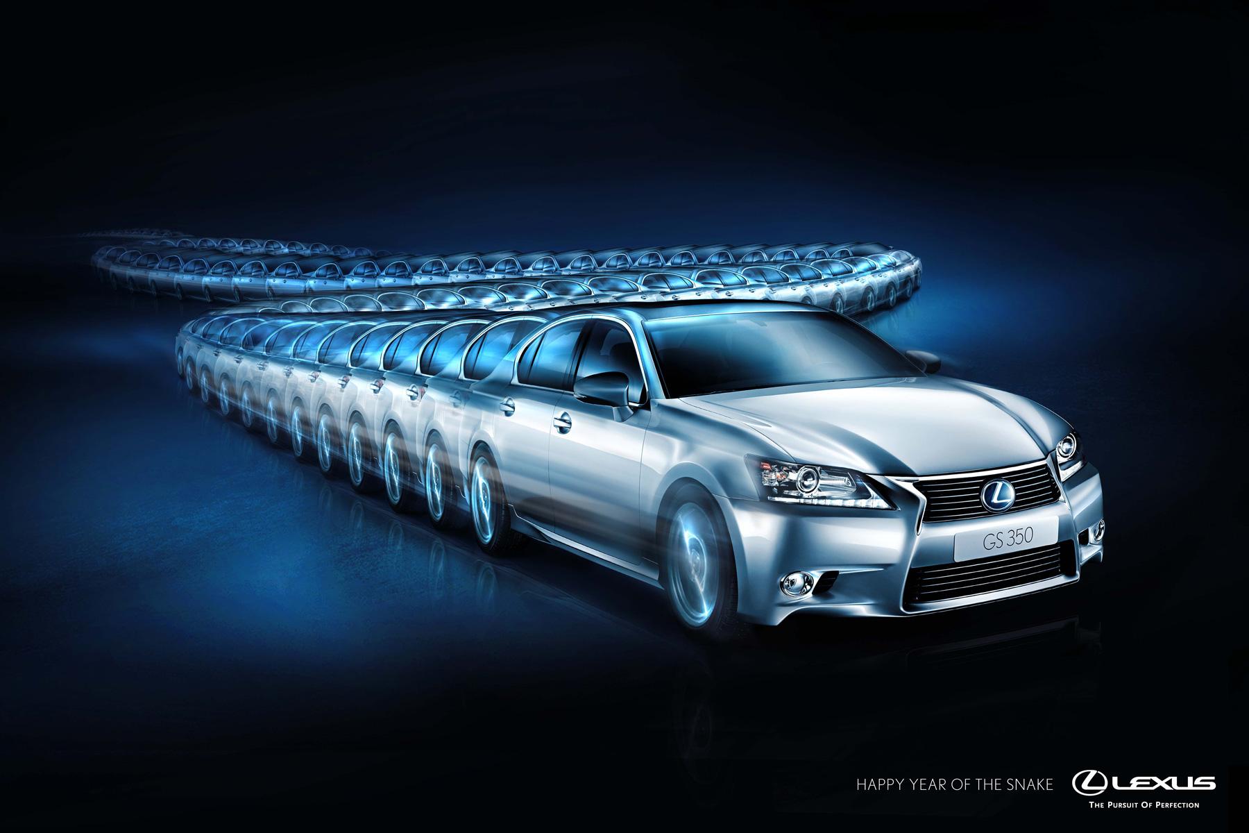 Lexus Print Advert By Saatchi & Saatchi: Lexus Chinese New ...