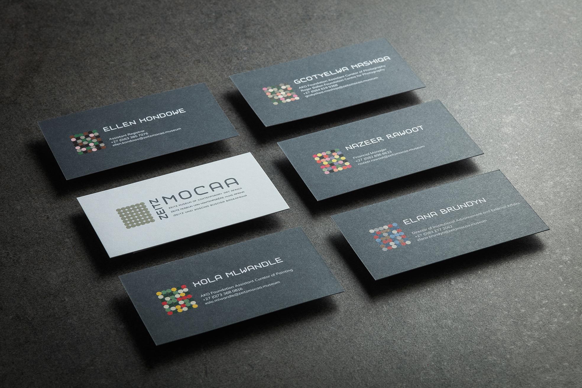 zeitz mocaa design advert by m c saatchi brand identity
