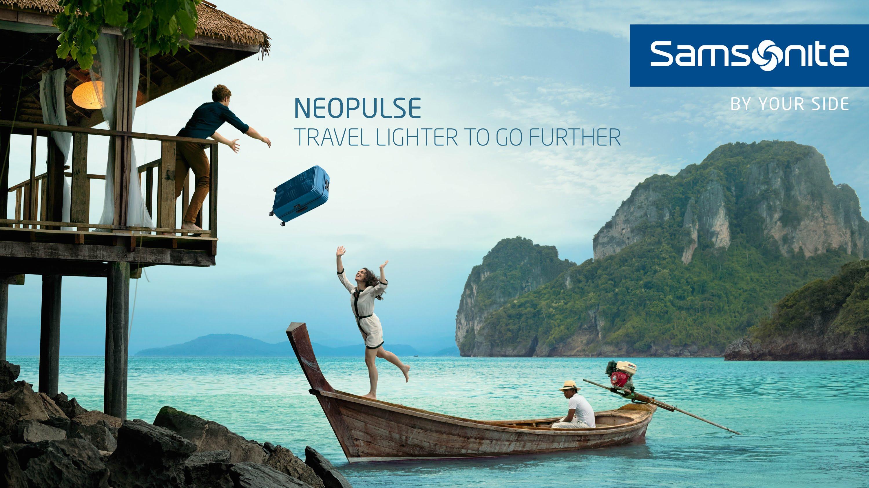 Samsonite Film Advert By Saatchi Travel Lighter To Go Further