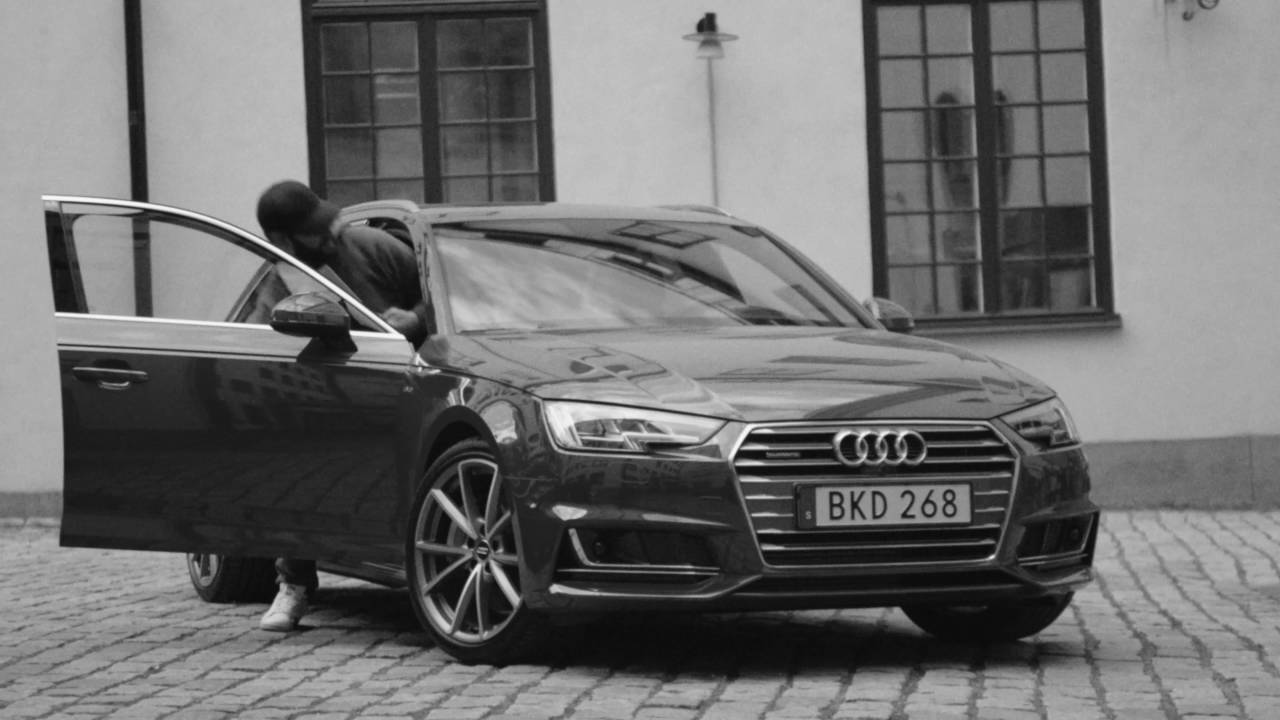Audi Ambient Advert By Åkestam Holst The D Audio Song Ads Of - Audi car song