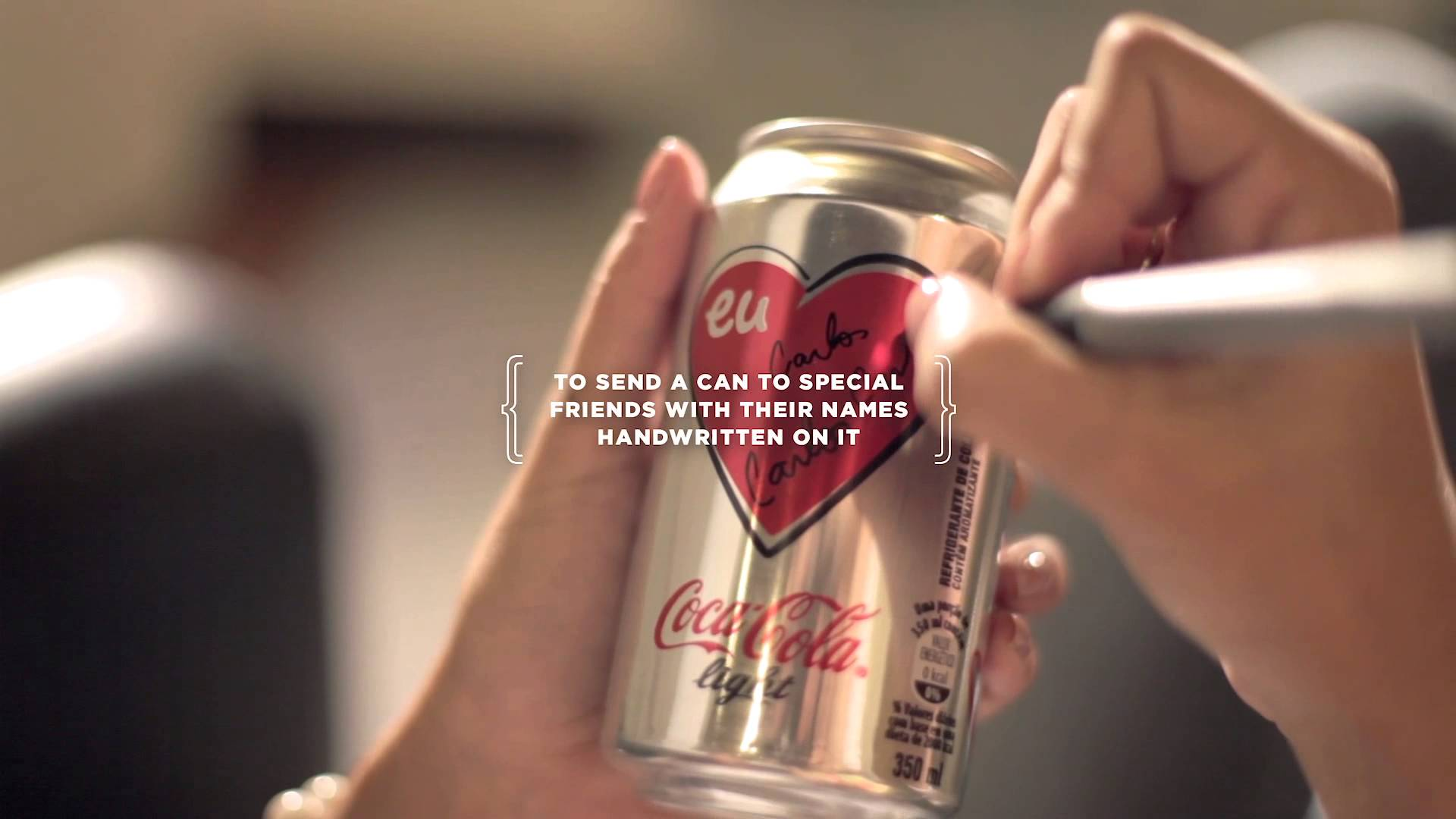 coca-cola light direct advertgeometry global: the return of love