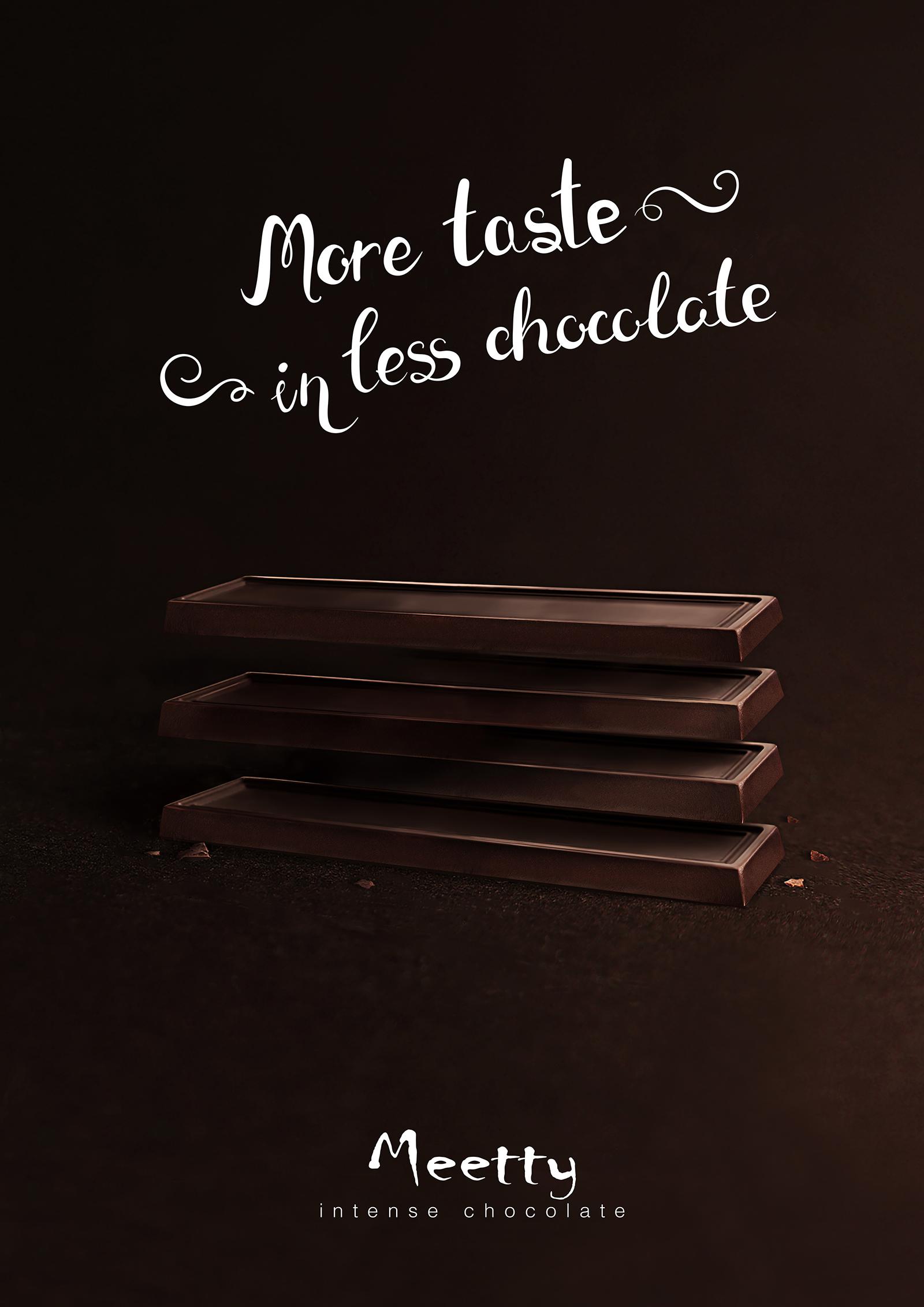 Advertisement On Chocolate