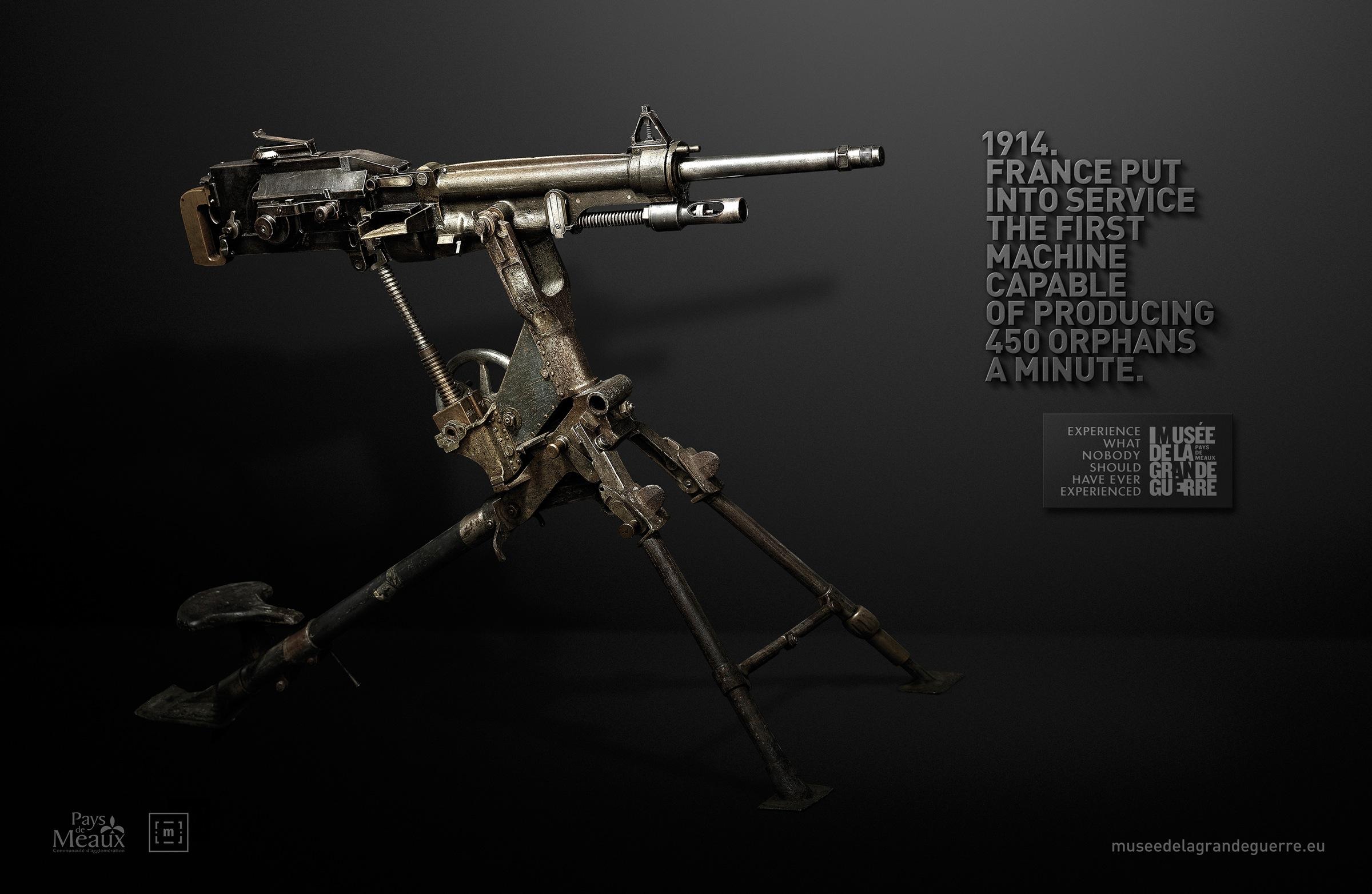 Mus e de la grande guerre du pays de meaux print advert by for Garage ad meaux