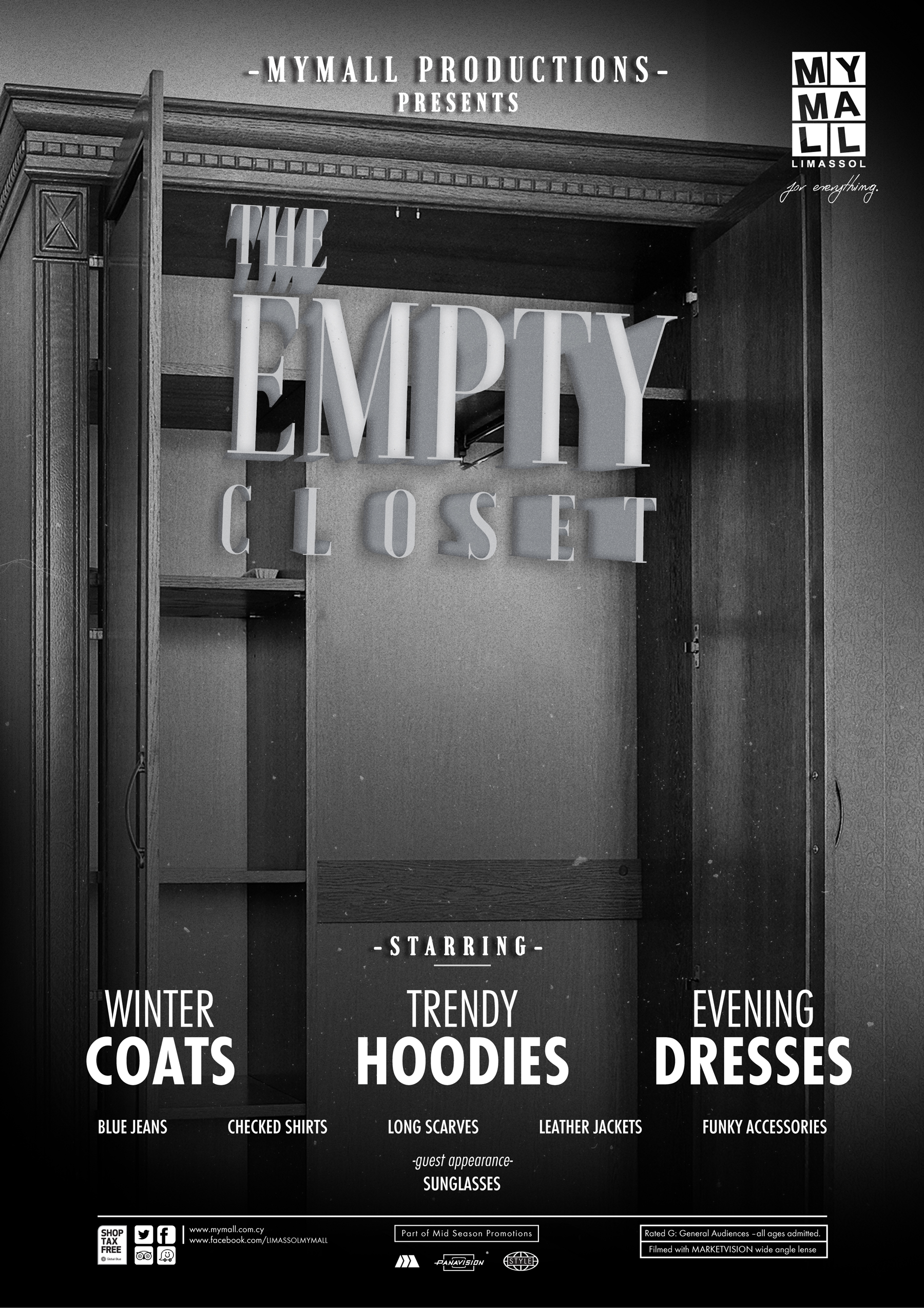 MYMALL Print Advert By Marketway The Empty Closet Ads of the World