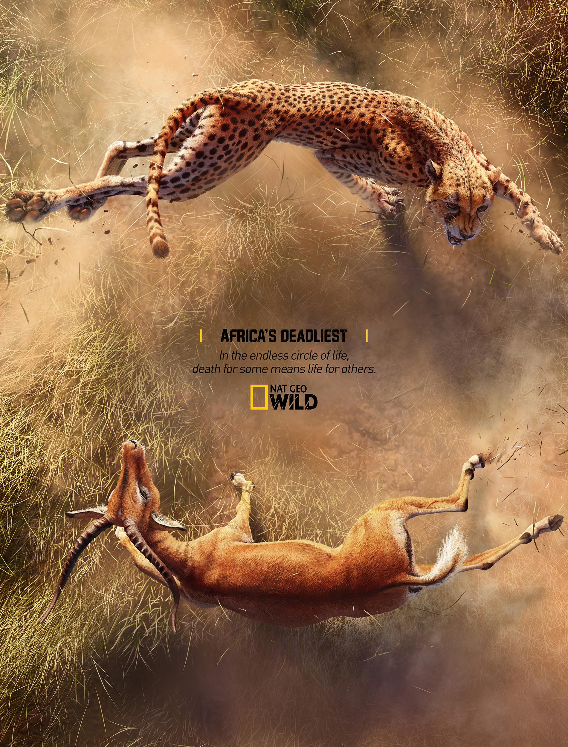 National Geographic Print Advert By Rocket Yard: Africa's ...