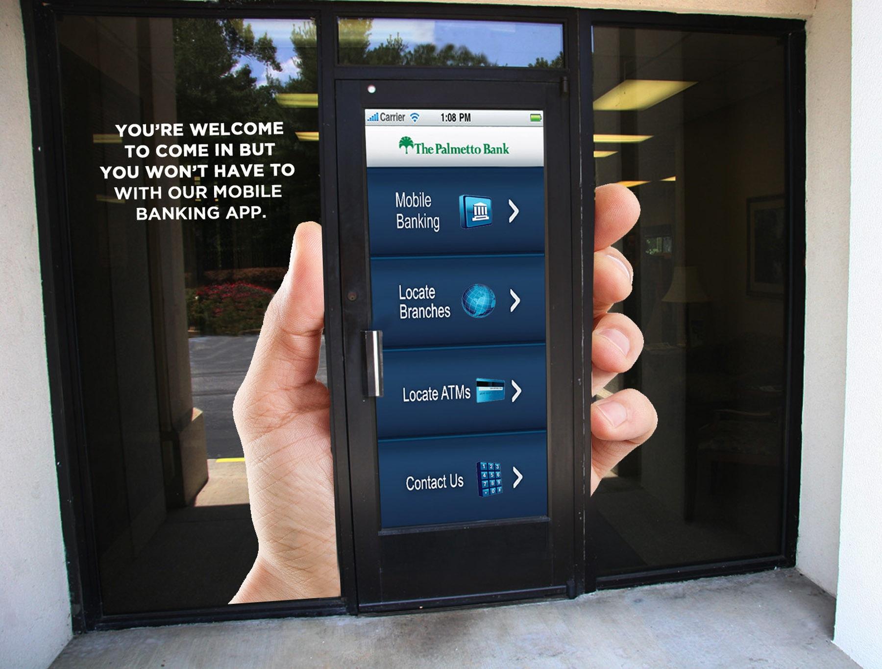 Brilliant Smart Bank Foto Von The Palmetto Outdoor Ad - Phone