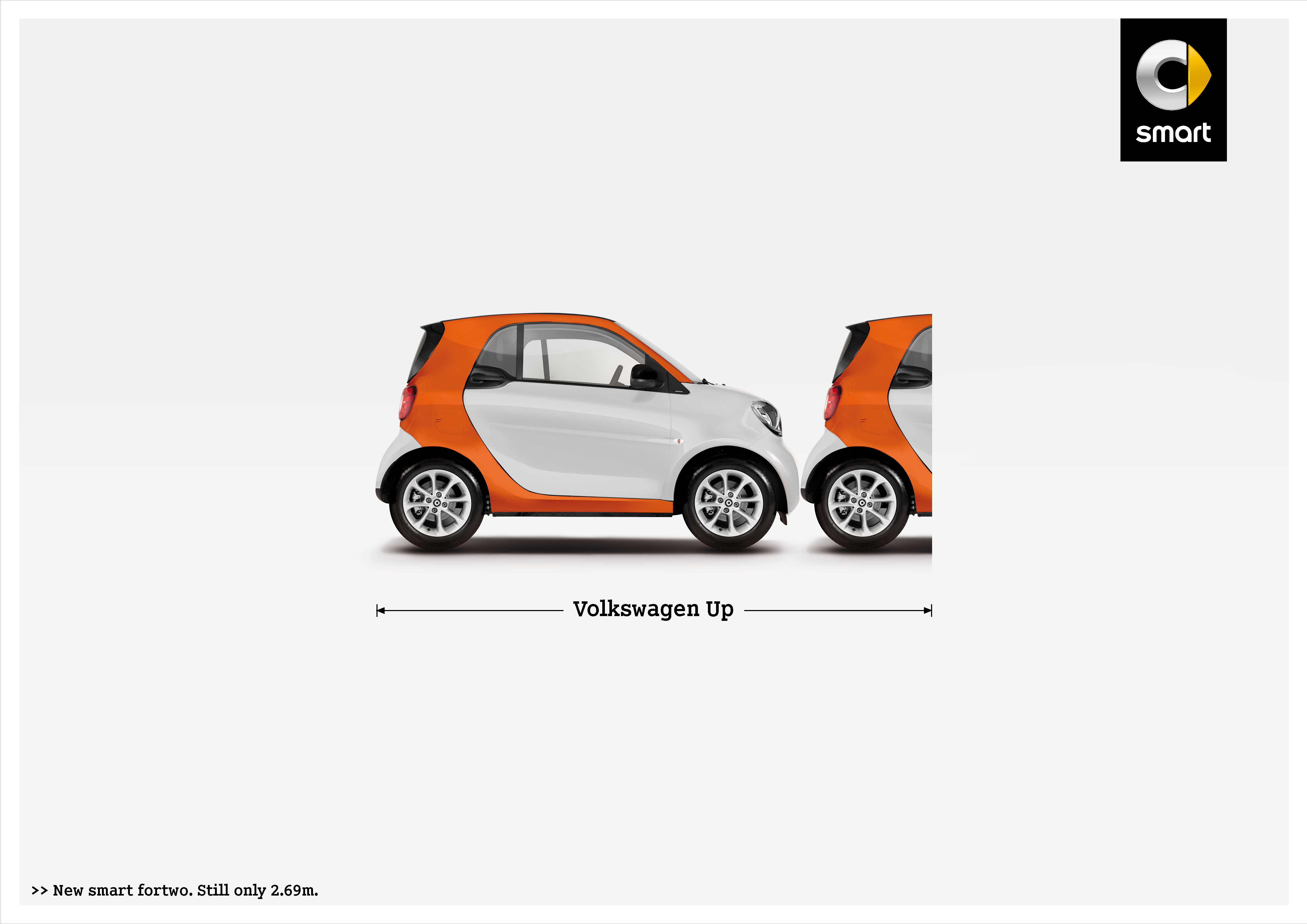 Smart Print Advert By BBDO: Volkswagen   Ads of the World™