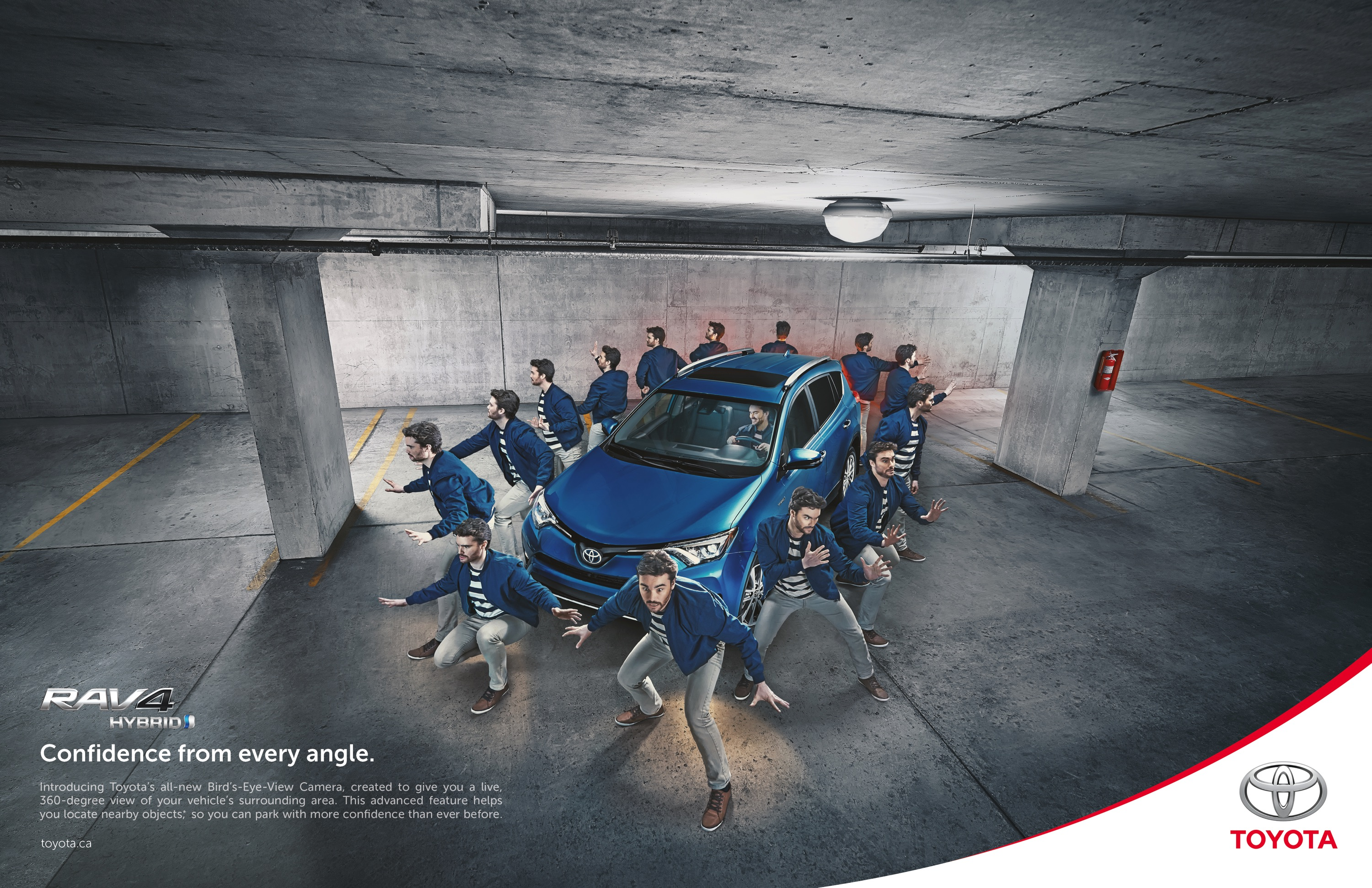 Toyota Outdoor Advert By Saatchi & Saatchi: RAV4 Bird\'s-Eye-View ...