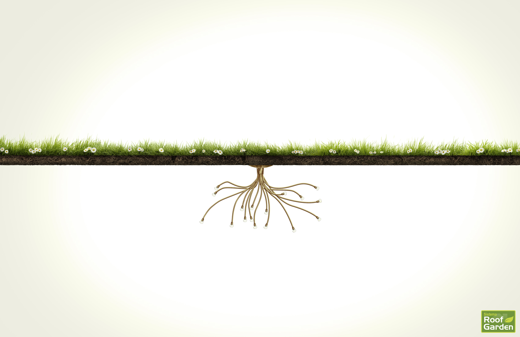 Attirant Roof Garden Print Ad   Grass, 2